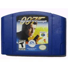 007 The World is Not Enough Nintendo 64