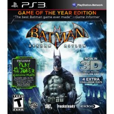 Batman Arkham Asylum (Game of the Year Edition) Playstation 3