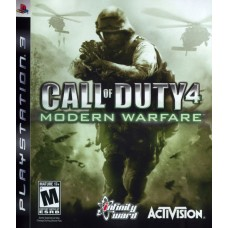 Call of Duty 4 Modern Warfare Playstation 3