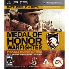 Medal of Honor Warfighter Project Honor Edition Playstation 3