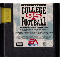 Bill Walsh College Football 95 Sega Genesis