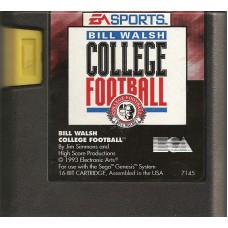 Bill Walsh College Football Sega Genesis