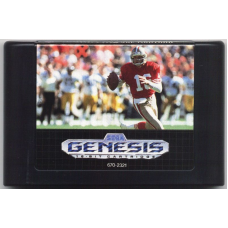 NFL Sports Talk Football 93 Sega Genesis