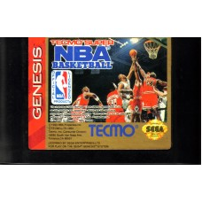 Tecmo Super NBA Basketball Sega Genesis
