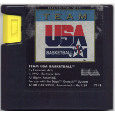 Team USA Basketball Sega Genesis