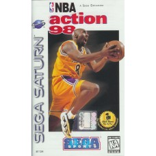 NBA Action 98 Sega Saturn