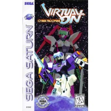 Virtual On Cyber Troopers Sega Saturn