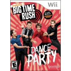 Big Time Rush Dance Party Wii
