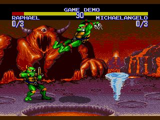 Teenage Mutant Ninja Turtles – Tournament Fighters (Genesis)
