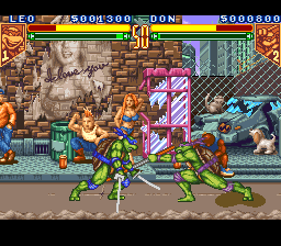 Teenage Mutant Ninja Turtles – Tournament Fighters (SNES)
