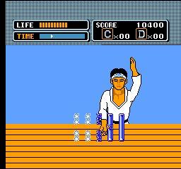 Karate Kid Nes Swinging Hammer