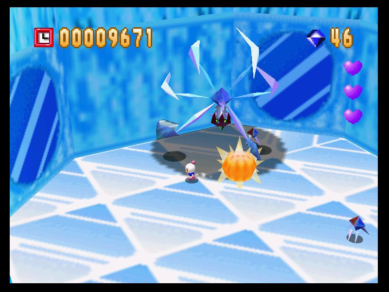 [Análise Retro Game] - Bomberman 64 - Nintendo 64 BOMBERMAN64U-61
