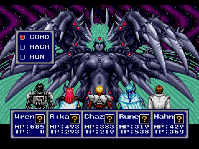 Phantasy Star IV – End of the Millenium