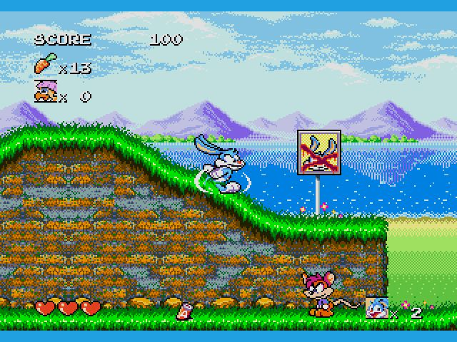 Tiny Toon Adventures – Buster's Hidden Treasure