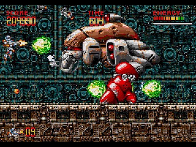 Sega Scrutiny: Genesis Game Reviews: Mega Turrican