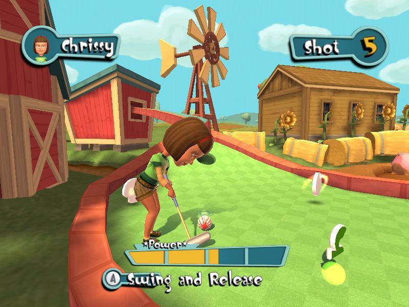 Carnival Mini Golf Wii Retrogameage