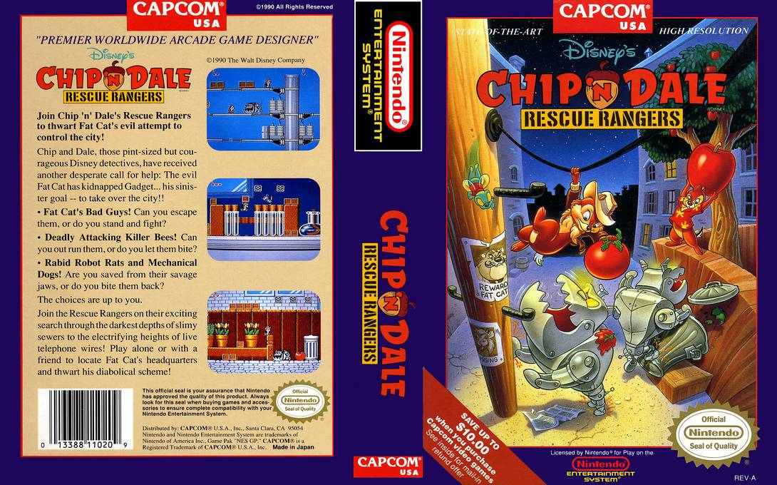 Chip_n_Dale_Rescue_Rangers_Coverart-5 - Chip 'n Dale Rescue Rangers [NES][MF] - Juegos [Descarga]