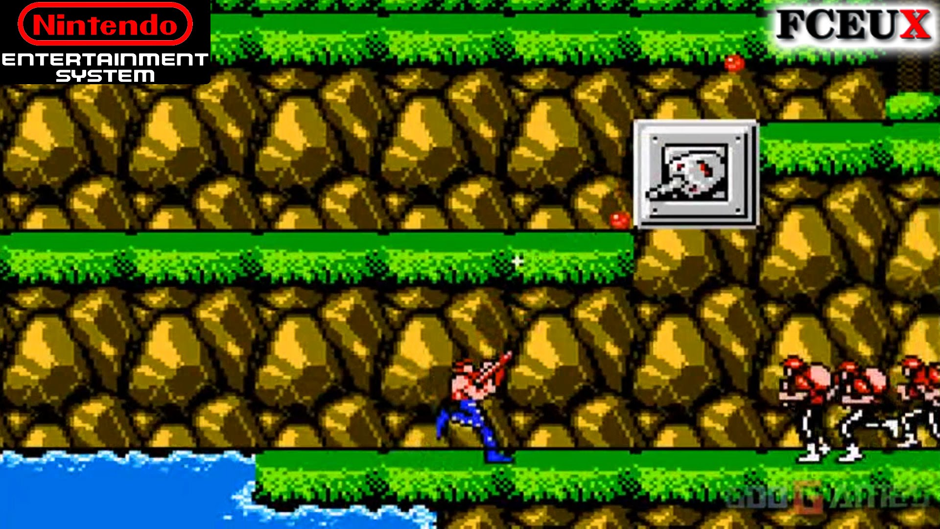 Image result for Contra nes game