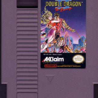 double dragon 2 nes box art