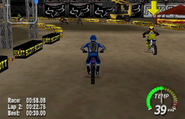 motocross n64