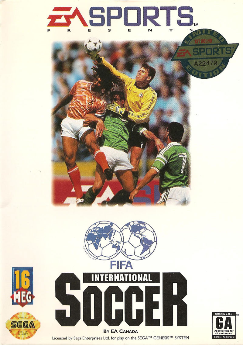 Fifa International Soccer Sega Genesis Retrogameage