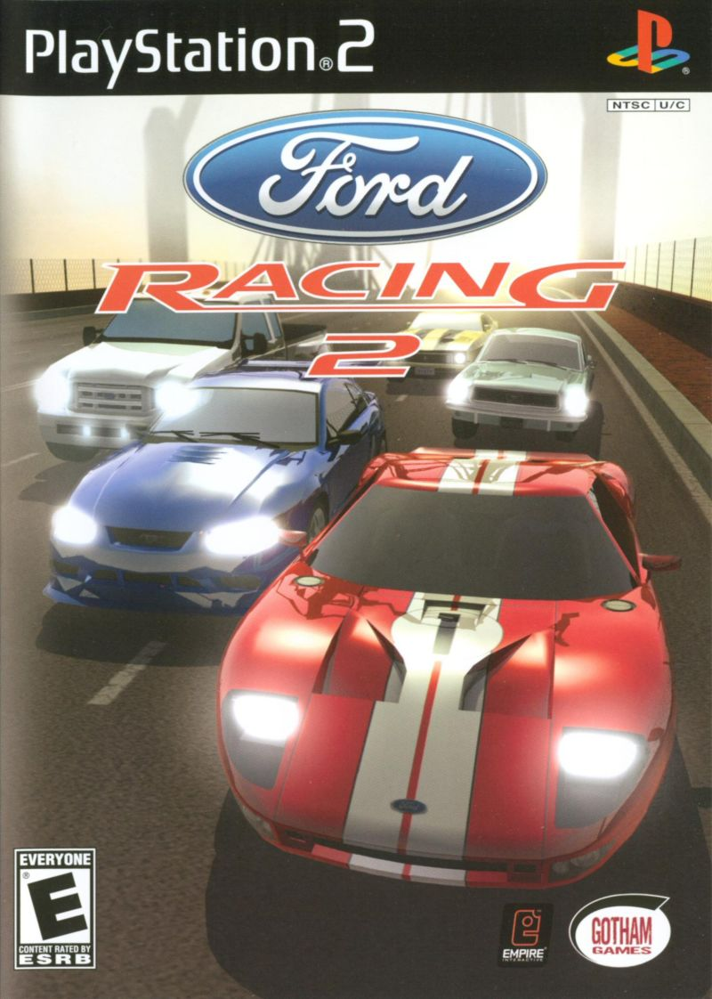 ford racing  playstation  retrogameage