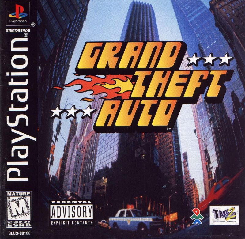 Grand Theft Auto Playstation - RetroGameAge