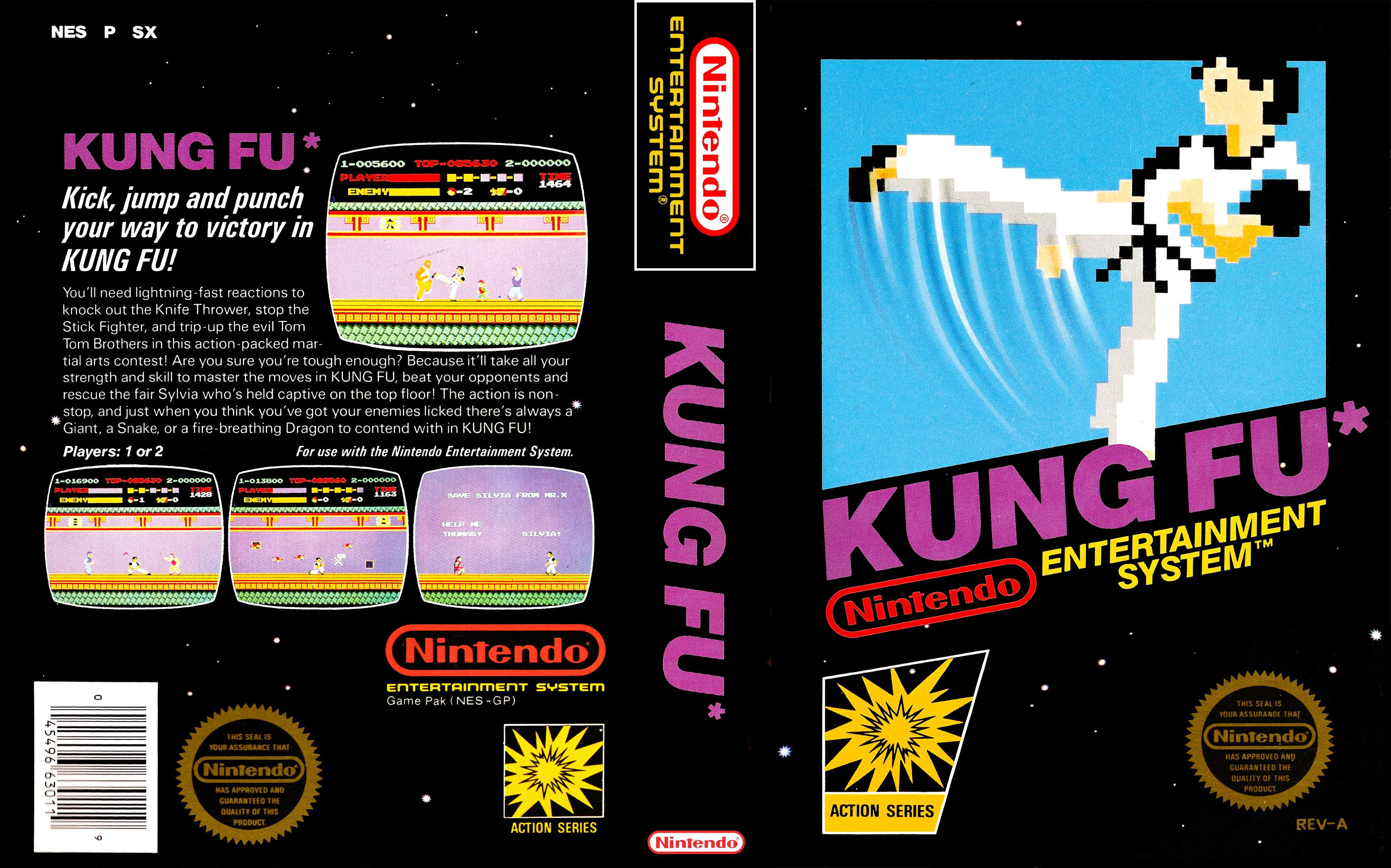 nes kung fu games