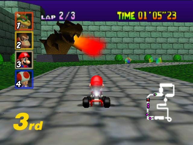 Mario Kart 64 Nintendo 64 Retrogameage