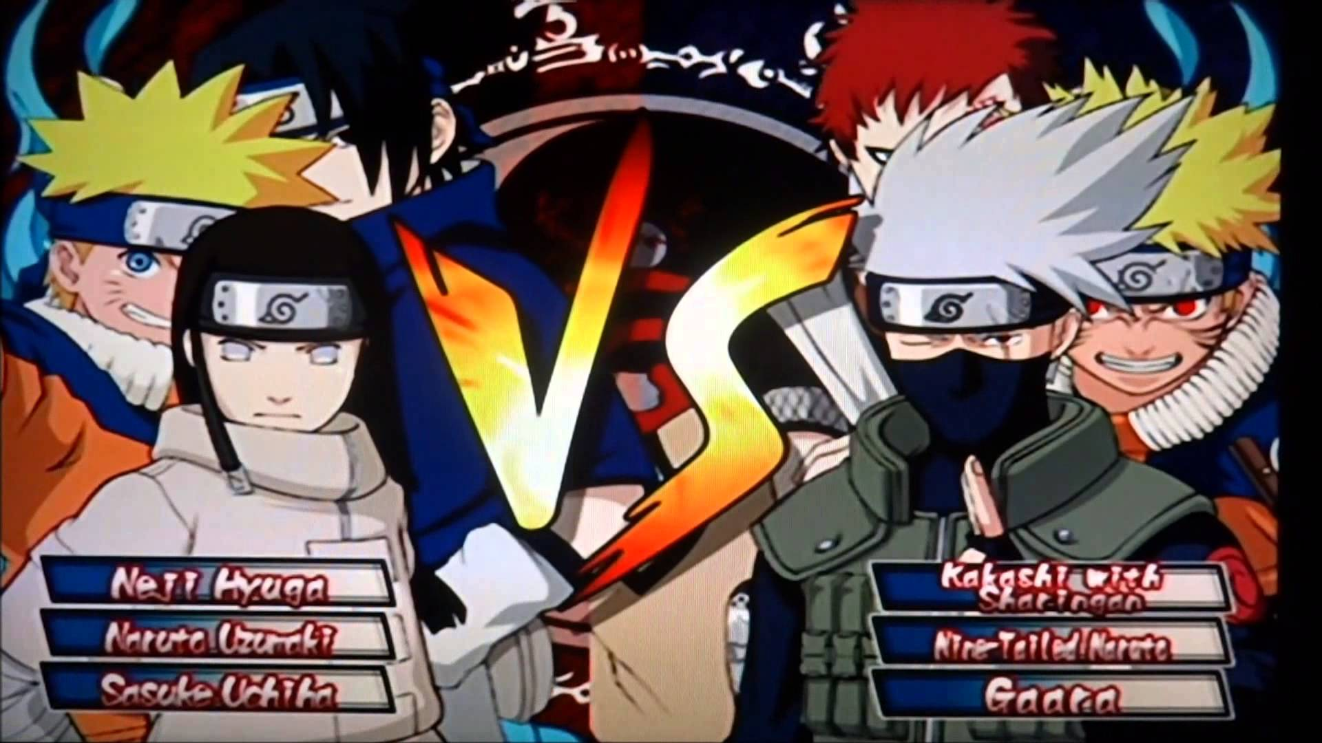 Naruto Clash Of Ninja Series : Naruto clash of the ninja gamecube retrogameage