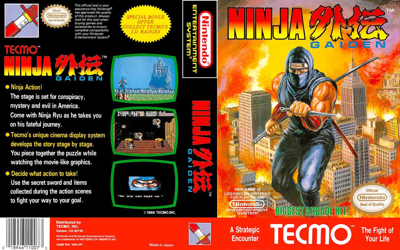 Ninja Gaiden Nes Retrogameage