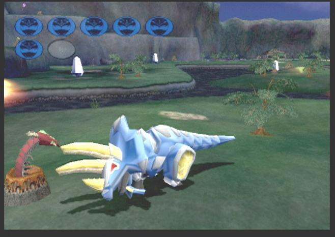 Power Rangers Dino Thunder Gamecube Retrogameage