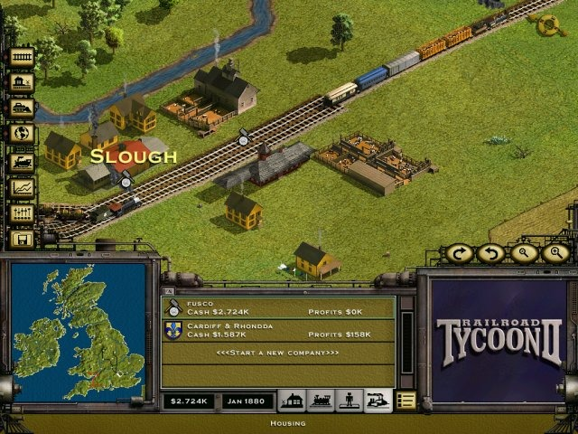 Railroad Building Games Online
