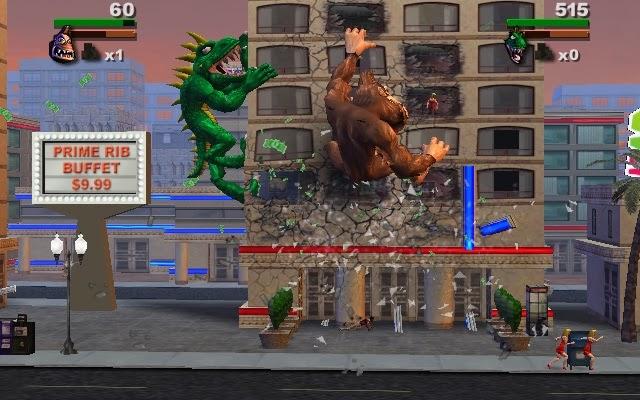 Rampage Total Destruction Wii Retrogameage