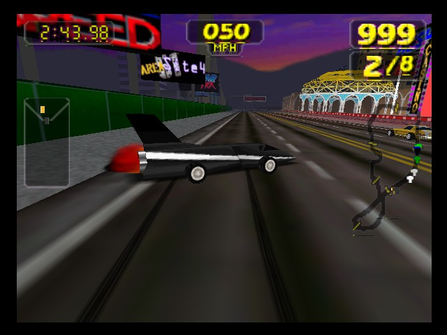 Rush 2 Extreme Racing Usa N64 Retrogameage