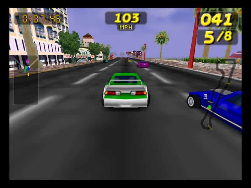 Rush  Extreme Racing Usa Cars