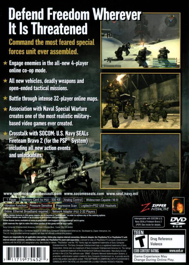 SOCOM U S  Navy Seals Playstation 2