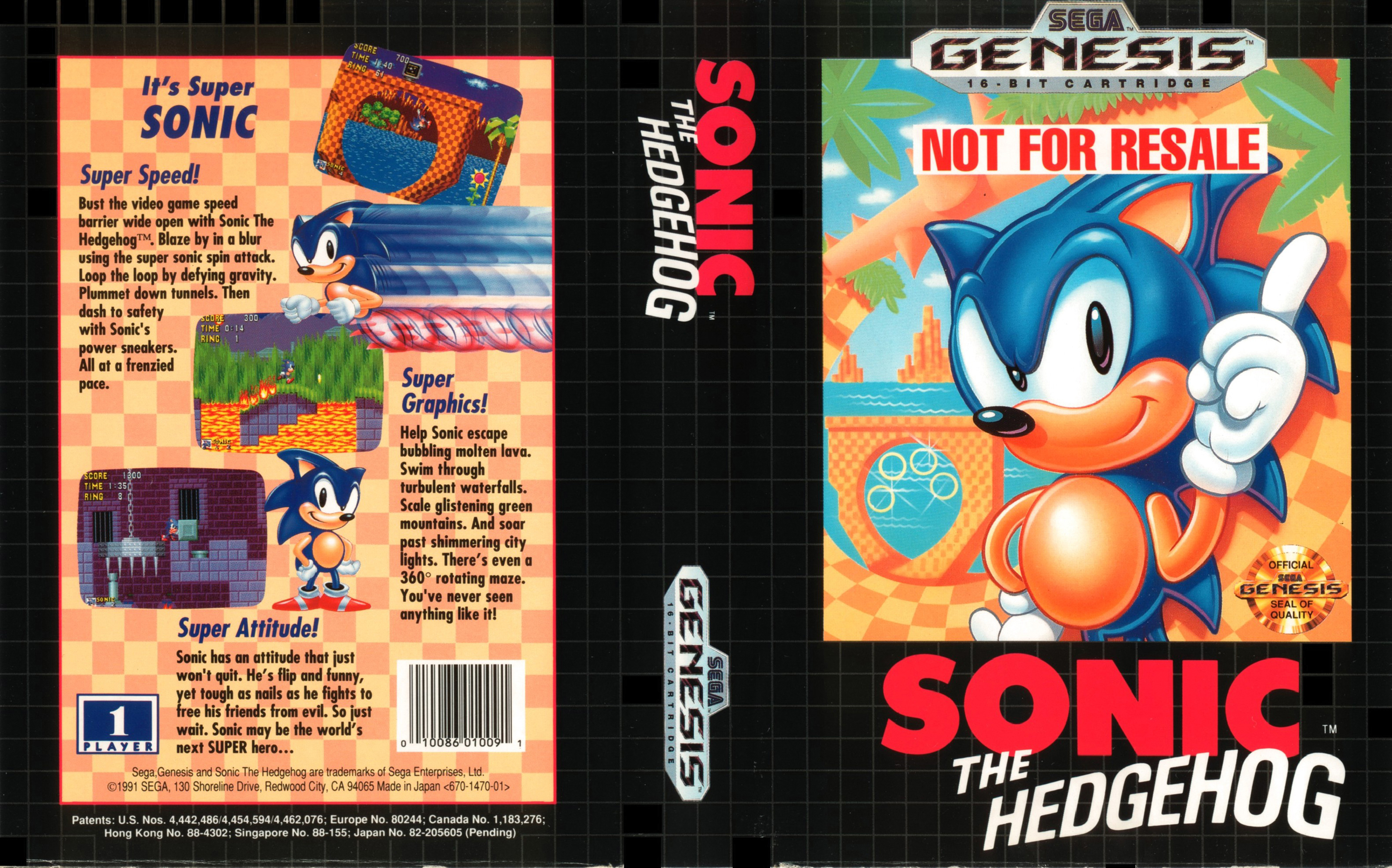 Sonic The Hedgehog Sega Genesis Retrogameage