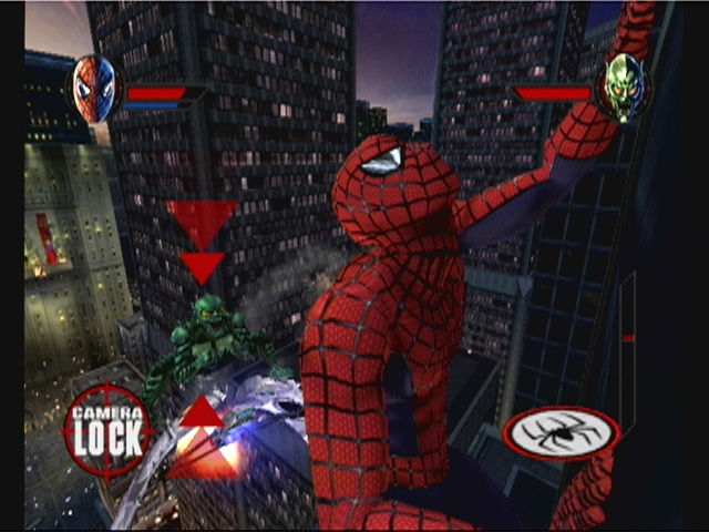 spider-man gamecube