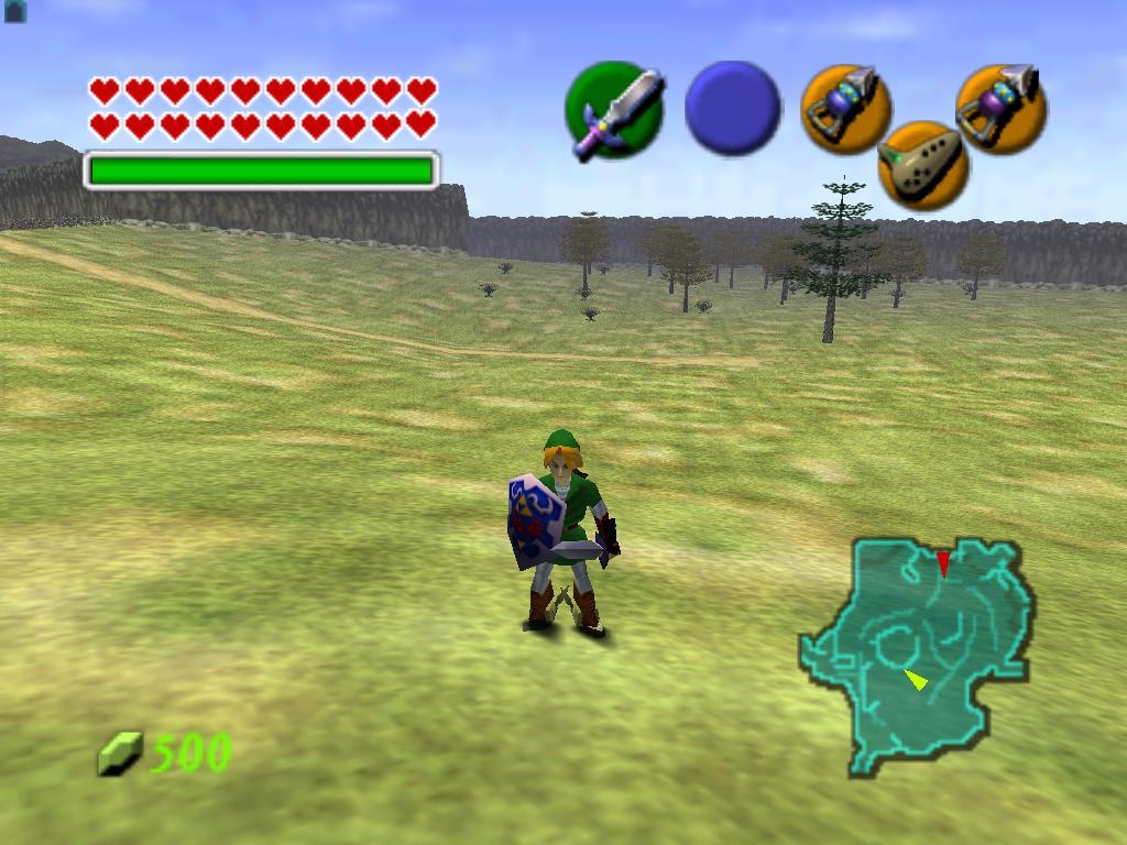 The Legend of Zelda Ocarina of Time Nintendo 64 - RetroGameAge
