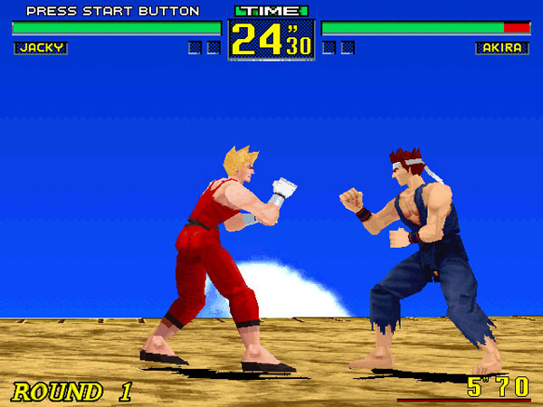 Virtua Fighter 2 - Play Game Online
